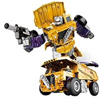 iShine Transformation Robot Combination Truck Transformers Toy Creative Combination Robot Trans Truck Transform Car Robot Engineering Car
