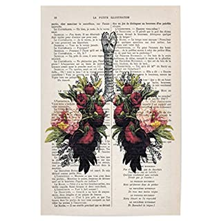 artboxONE Poster 30x20 cm Floral Flower Lungs 01