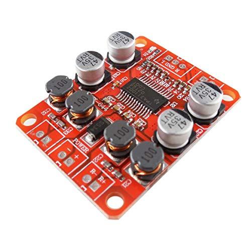 HW-644 TPA3110 Chip Digitale Endstufe Modul 2x15 Watt Dual Channel Stereo Sound DIY Lautsprecher Verstärkerplatine - Rot (Sound-modul Chip)