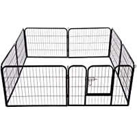 Outsunny - Recinto per cuccioli - Recinzione per animali - dimensioni: 80x100cm