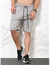 SKULT Men Charcoal Shorts