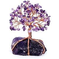 JOVIVI Edelstein Lebensbaum Deko 7 Chakra Trommelsteine Wire Wrap Geldbaum Baum des Lebens Dekor Feng Shui Reiki... preisvergleich bei billige-tabletten.eu