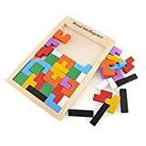 Enlarge toy image: bismarckbeer Wooden Peg Puzzles Blocks Kids Early Educational Toy for 3 4 5 Years Old