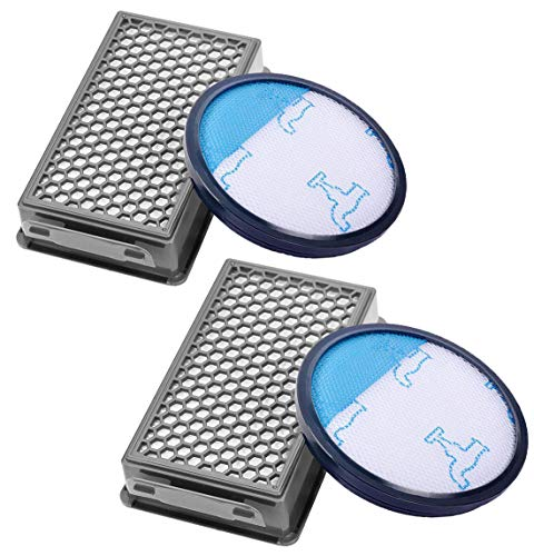 Awinker 2 Filtro de Espuma y 2 Filtro HEPA para Aspiradoras Rowenta ZR005901 Compact Power Cyclonic...
