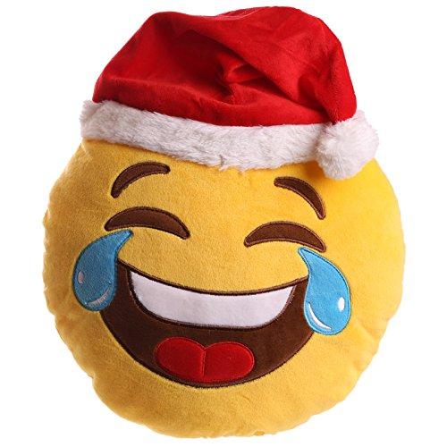 babbo-natale-cappello-lol-emotive-cuscino-babbo-natale-facebook-android-emoji-pds