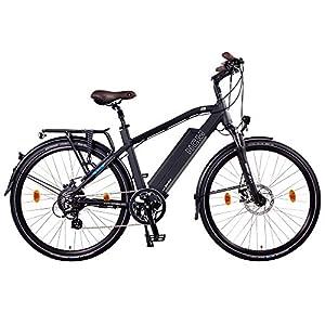 NCM Venice 28 Zoll Urban E-Bike 250W Das-Kit Heckmotor 48V 13Ah 624Wh Li-Ion Zellen Akku schwarz