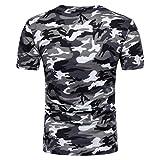 ZARLLE Camiseta Hombre, Camiseta de Camuflaje Hombre Militares Camisetas Deporte Ropa...