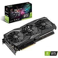 Asus ROG-Strix-RTX2070-O8G-Gaming Grafikkarte (Nvidia, PCIe 3.0, 8GB DDR6 Speicher, HDMI, Displayport, USB Type-C)