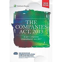 Companies Act, 2013: As Per Companies (Amendment) Act, 2017
