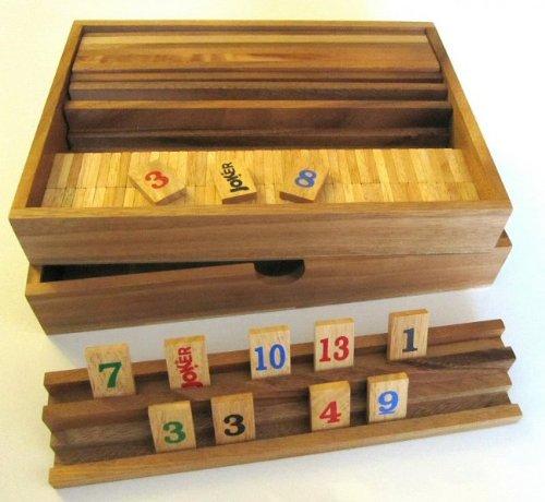 Rummy-Strategiespiel-Gesellschaftsspiel-Legespiel-in-sehr-edler-Ausfhrung-alle-Teile-aus-Samena-und-Hevea-Holz