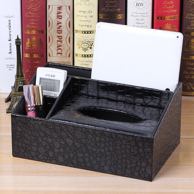 XBR les bijoux de stockage stockage cassette miroir boîte commode cuir boîte à bijoux,pearl red grand,30 * 20 * 20