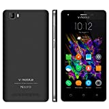 Smartphone Telefoni 5 Pollici HD V·Mobile A10 Telefoni Cellulari in offerta Android 7 Telefonia Mobile Supporta Quad Core Smartphone 8GB ROM Dual SIM 5MP Cellulari offerte WIFI 2800mAh 8Pz (Nero)