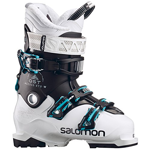 "'SALOMON Botas de esquí Quest Access X70 "", Black/White/Aqua Blue"