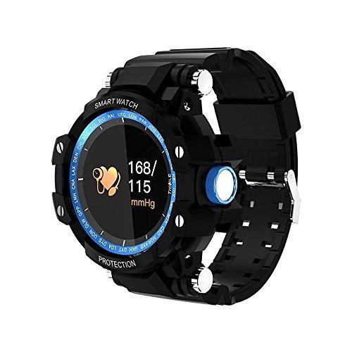 JINSHENG Smartwatch GW 68 für Android 4.4 iOS Bluetooth- Wasser- verbrannten Kalorien Puls Tracker Schrittzähler Activity Tracker > 480 - Blau