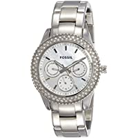 Fossil Analog Mother of Pearl Dial Women Watch - ES2860