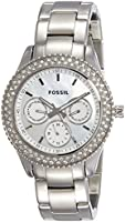 Fossil Analog Silver Dial Women Watch - ES2860