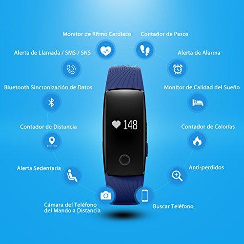Zoom IMG-1 mpow fitness tracker activity braccialetto