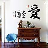 WandSticker4U- Wandtattoo: Chinesische Zeichen