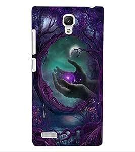 ColourCraft Creative Image Design Back Case Cover for XIAOMI REDMI NOTE 4G
