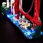 LIGHTAILING-Set-di-Luci-per-Architecture-San-Francisco-Modello-da-Costruire-Kit-Luce-LED-Compatibile-con-Lego-21043-Non-Incluso-nel-Modello