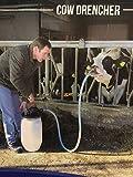 Holland Animal Care Cow Drencher mit 25 Liter Fass und Pumpe - Rinder Kühe