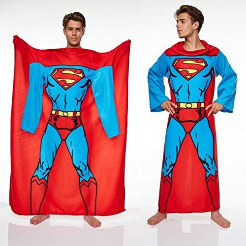 Superman Manta con Mangas