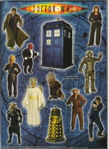 Doctor Who Magnete,2008er-Set -