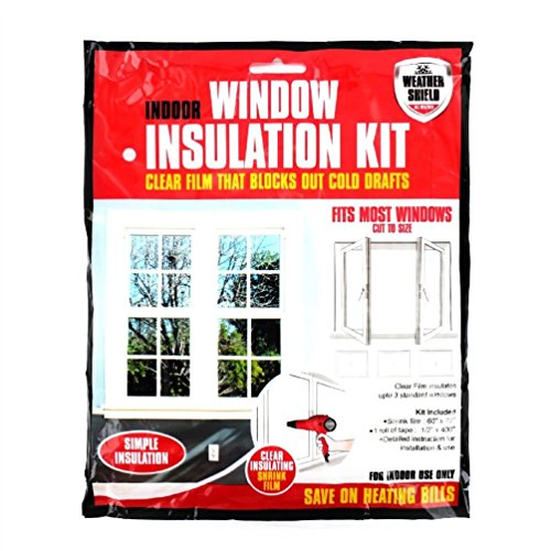 Fun Daisy Home Series Home Window Insulation Kit Heating Glass Draught Excluder Double Glazing Film