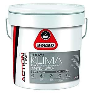 Pittura boeroklima antimuffa boero fai da te - Prodotti antimuffa per muri interni ...