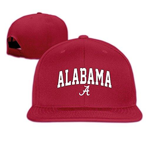 hittings-alabama-crimson-tide-football-logo-snapback-hats-red
