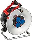 Brennenstuhl Garant S IP44 Kabeltrommel  silber