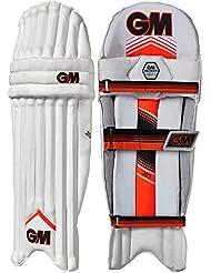 Gunn & Moore 303–niños–protectores de piernas de críquet guardias blanco/rojo, blanco