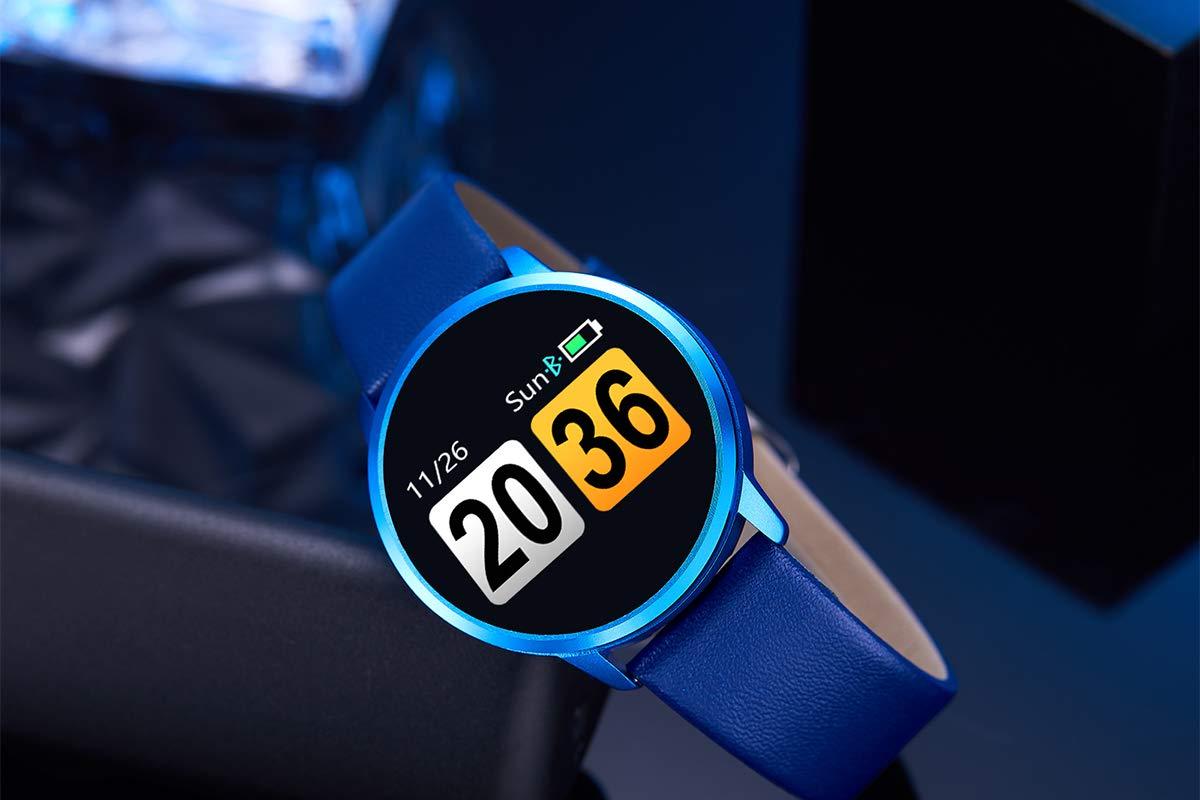 Adsvtech Smartwatch, Impermeable Reloj Inteligente Mujer Hombre, Pulsera Actividad Inteligente Reloj Deportivo Reloj… 3