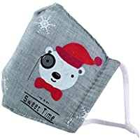 Kids Staubdicht Gesichtsmaske Baumwolle Mundmaske mit verstellbaren Trägern,#06 preisvergleich bei billige-tabletten.eu
