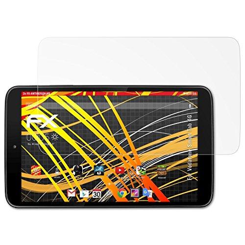 atFolix Schutzfolie kompatibel mit Vodafone Smart Tab 4G Bildschirmschutzfolie, HD-Entspiegelung FX Folie (2X)