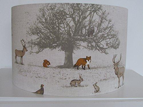 handmade-british-woodland-scene-fox-country-hare-stag-tree-pheasant-lampshade-lightshade