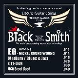 Black Smith 11-49 Jeu de cordes pour Guitare électrique