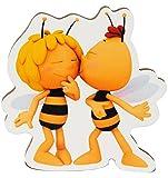 alles-meine.de GmbH 3 Stück _ Magnete -  Willi Küßt die Biene Maja  - aus Holz - 9 cm - für Kind..