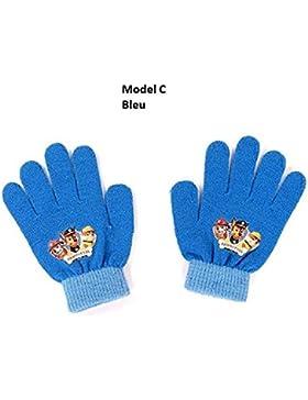 guantes Paw Patrol La pata de la Patrulla un tamaño de 1, 3 colores al azar *