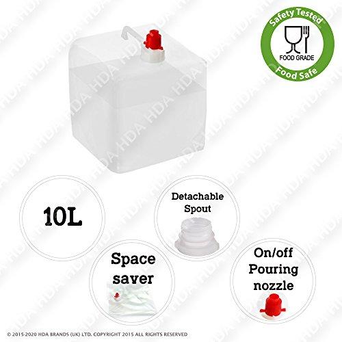 transport-deau-container-10l-avec-spout-detachable-plie-a-plat-lot-de-1