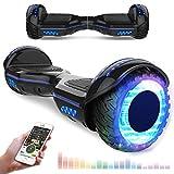 RCB Scooter Elettrico da 6,5 Pollici con LED Bluetooth su ruote brillante Auto bilanciamento 6.5''...