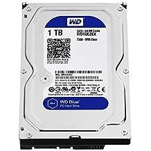 "WD WD10EZEX Blu Hard Disk Desktop da 1 TB, 7200 RPM, SATA 6 GB/s, 64 MB Cache, 3.5"""