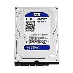 Wd Blue 1tb Interne Festplatte (8,9 Cm (3,5 Zoll)), Sata 6 Gbs Bulk Wd10ezex