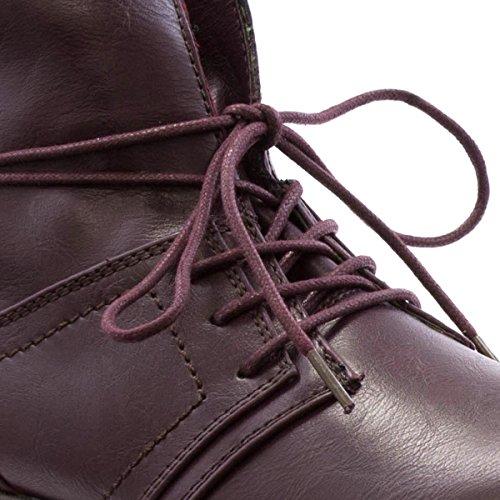 Heavenly Feet, Damen Stiefel & Stiefeletten Rot