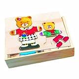 Ankleidepuzzle Mutter und Kind - kreativer Spielspaß