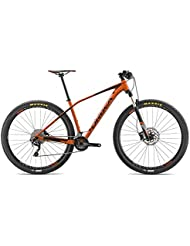 Orbea Alma H50Suspensión Mountain Bike Aluminio Bicicleta MTB 29pulgadas, 10velocidades Shimano, I216, color naranja, tamaño medium