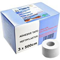 SFM Zink-Oxid Heftpflaster mit Plastikkern in Box, 3cm x 5.0m,(18 St.) preisvergleich bei billige-tabletten.eu