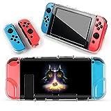 Nintendo Switch Schutzhülle Zelda Majoras Mask Design Hardcase/Harte Schutzhülle Set für Konsole und Joy Cons