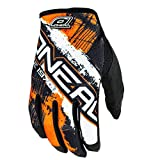 O'Neal Jump MX Handschuhe Shocker  M Schwarz/Orange