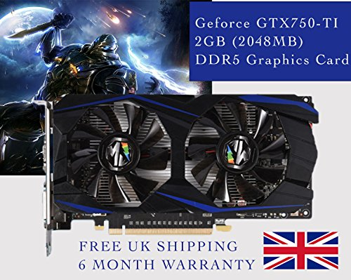 Price comparison product image GeForce GTX 750 Ti 2GB (2048MB) DDR5 Graphics Card - HDMI - Mining